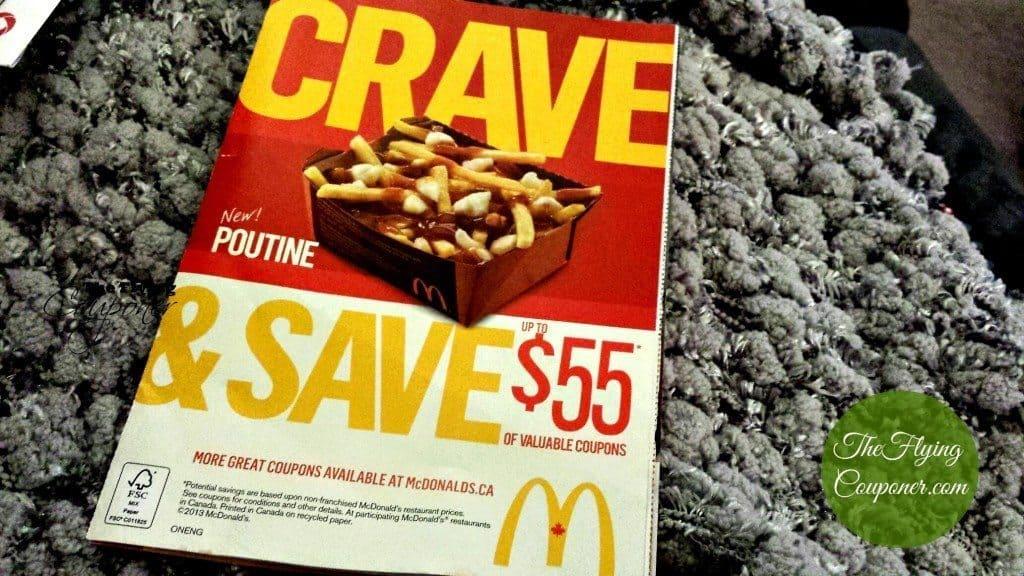 Mcdonalds coupons mailer