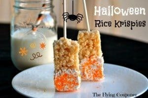 Halloween Rice Krispies