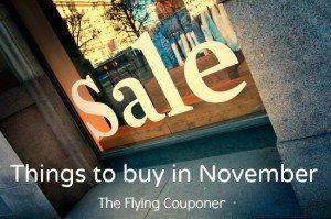 Things to buy in November