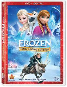Frozen Sing-Along DVD Review
