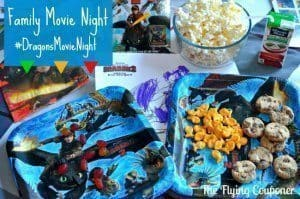 How to Train Your Dragon 2 movie night pack
