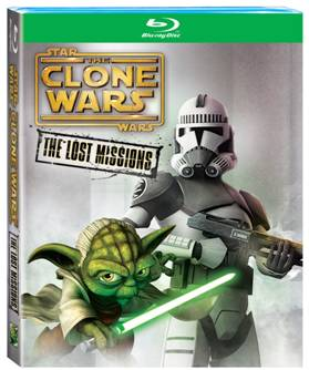 STAR WARS THE CLONE WARS THE LOST MISSIONS DVD