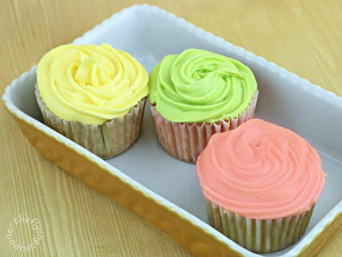 Galerry homemade colored icing