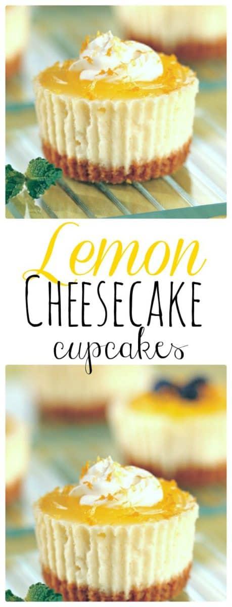 Lemon Cheesecake Cupcake. Easy Recipe. The Flying Couponer.