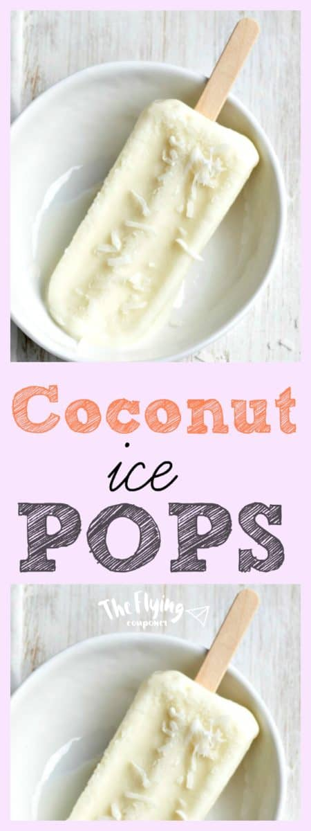 Coconut Ice Pops Recipe. The Flying Couponer.
