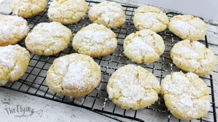 Eggnog Gooey Butter Cookies The Flying Couponer