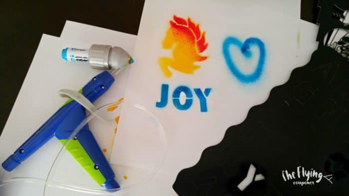 Get Creative With The Crayola Air Marker Sprayer Giveaway
