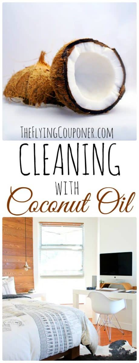 Cleaning with Coconut Oil. The Flying Couponer.