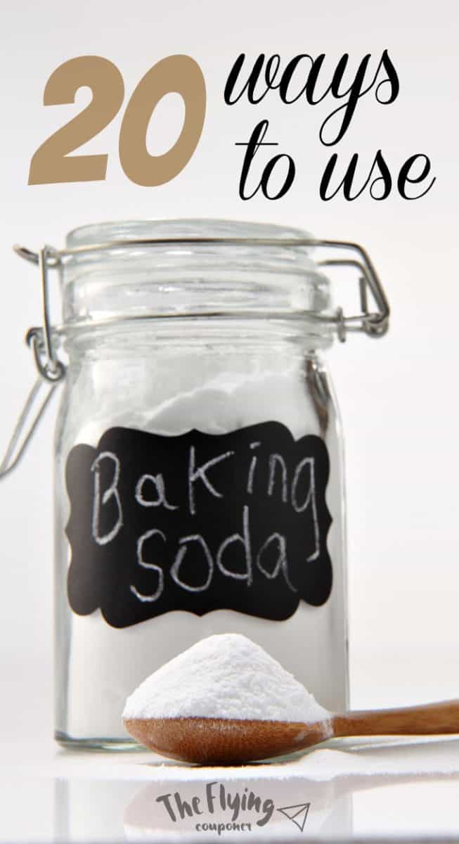 20 ways to use baking soda around the house the flying couponer. Black Bedroom Furniture Sets. Home Design Ideas
