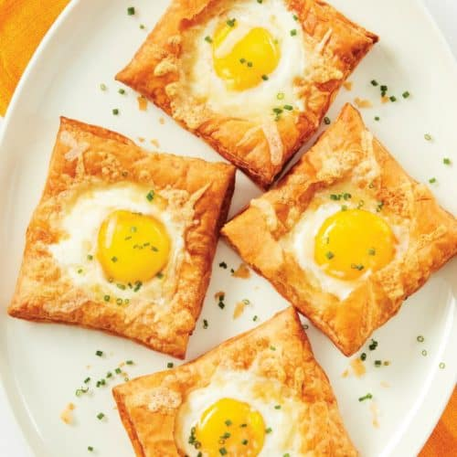 Air Fryer Breakfast Puffed Egg Tarts The Flying Couponer